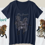 Native American Horses Shirts